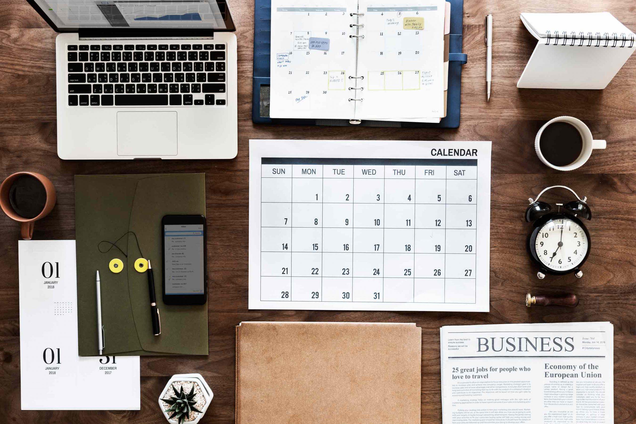۳ نمونه تقویم بازاریابی محتوا
