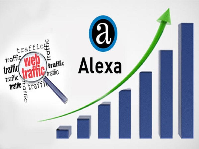 کاهش رتبه الکسا